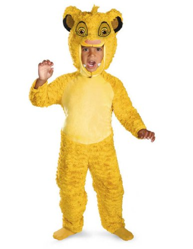 [Simba Deluxe Costume Size: Small] (Toddler King Costumes)