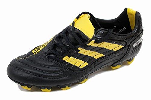 adidas Men's Absolado_X Fg Soccer Shoe,Black/Sun/Metallic Silver (WC),6.5 D US - Absolado Trx Fg Soccer Shoe