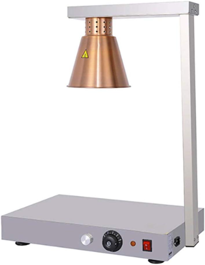 LáMpara De Calor De Una Sola Cabeza, Lámpara de Calefacción de Temperatura Ajustable 650W, Apta Para Restaurante Occidental, Restaurante De Comida RáPida: Amazon.es: Hogar