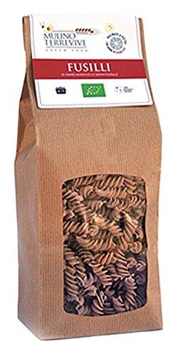 Mulino Terrevive Fusilli de Espelta Semi-Integral Bio - 10 Paquetes de 500 gr - Total: 5000 gr: Amazon.es: Alimentación y bebidas