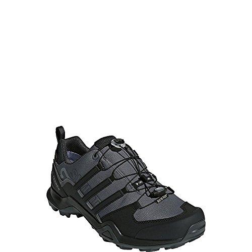 adidas outdoor Terrex Swift R2 GTX Hiking Shoe - Men's Grey Five/Black/Carbon, 11.0