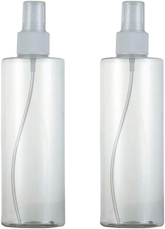 2 unidades 300 ml 10 Unze vacío plástico transparente niebla fina ...