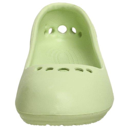 crocs - Bailarinas para mujer Verde (Selerie)