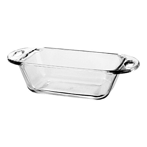 Anchor Hocking Premium Glass 9 x 5 Inch Loaf (Glass Loaf Dish)
