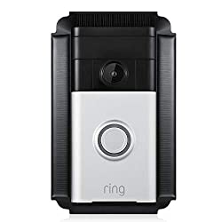 Solar Charger Mount Compatible with Ring Video Doorbell 1 - Continuous Charging for Maximum Efficiency