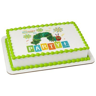 The Very Hungry Caterpillar Party Licensed Edible Cake Topper #38893