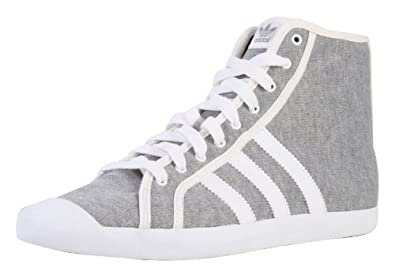 low priced c6493 ab5d0 Image Unavailable. Image not available for. Colour  Adidas Originals Sleek  Series Adria Mid Sleek Womens Shoes Trainers Sneakers ...