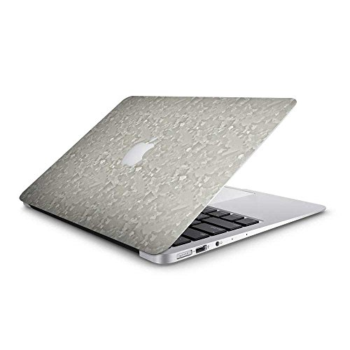 Galvanised Metal Steel Macbook Skin - Vinyl Skin For Macbook Air 13 inch – Lightweight Anti-Scratch Cover Sticker For Apple Laptops - Easy Bubble Free Install Mac ()