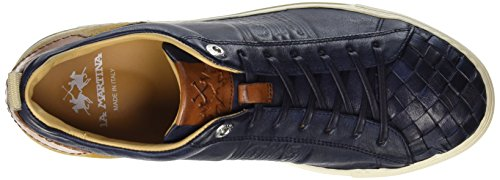 La Martina Cassetta, Sneaker Uomo Blu (Dark Blue)
