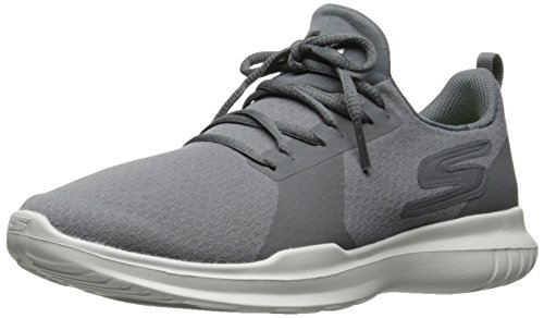 Skechers Performance Women's Go Run-Mojo Running Shoe,Charcoal,9 M US
