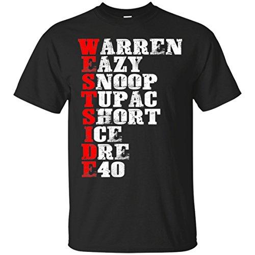 Coincard T-Shirt West Side Hip Hop Rap Music Artist Gift Shirt for Fan Men Woman -