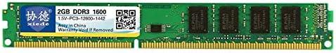 DDR3 1600MHz 2GB 1.5V General Full Compatibility Memory RAM Module for Desktop PC