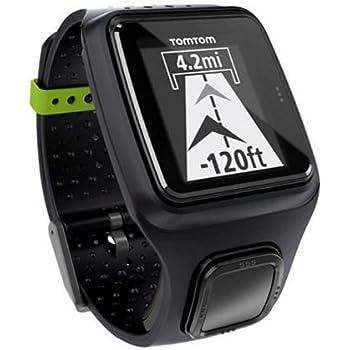 990b66818f7 Amazon.com  TomTom Runner GPS Watch (Black)  Cell Phones   Accessories