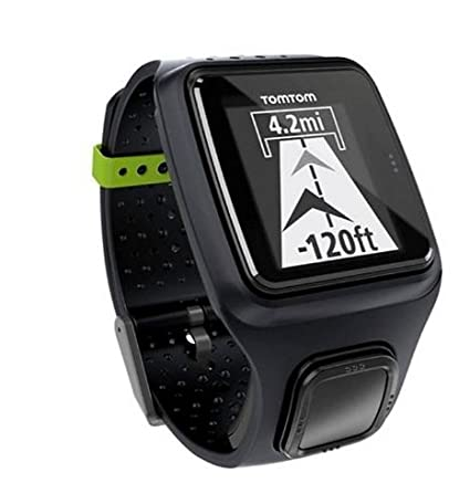 73a55fc9dc7 Amazon.com  TomTom Runner GPS Watch (Black)  Cell Phones   Accessories