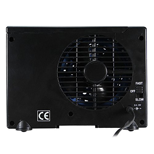 Yutang Mini Air Conditioner, Car Cooling Air Fan 12V Auto Vehicle Van Speed Adjustable Silent Portable Cooler by Yutang (Image #8)