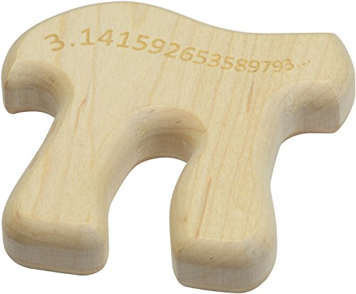 Pi Shaped Maple Teether - Made in USA