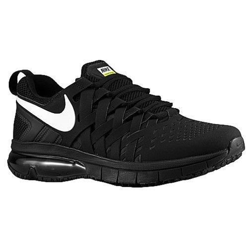 nike fingertrap max TB mens trainers 666410 sneakers shoes (uk 8.5 us 9.5 eu 43, black white 010)