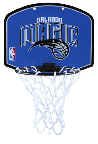Huffy Spalding NBA Orlando Magic Mini Hoop Set - Orlando Magic Mini Basketball