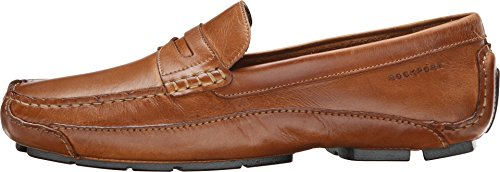 Rockport Men's Luxury Cruise Penny Tan Loafer 10 M (D) Photo #3