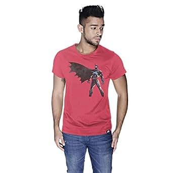 Creo Batman Super Hero T-Shirt For Men - S, Pink