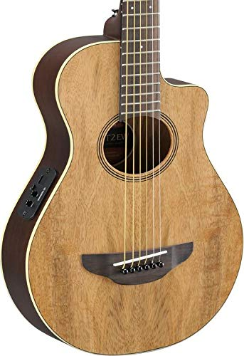Yamaha APXT2EW 3/4-Size Acoustic-Electric Guitar with Gig Bag, Figured Natural