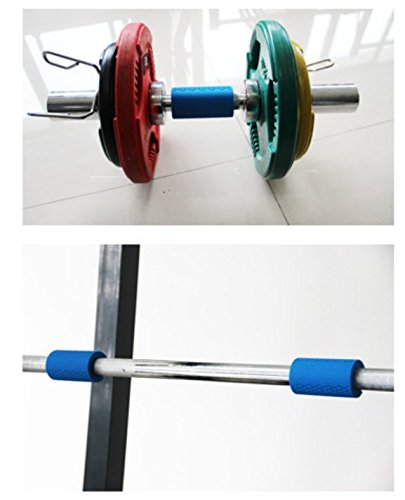 Easyown Thick Bar Grips Turns Barbell Dumbbell And