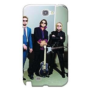 JamieBratt Samsung Galaxy Note 2 Durable Hard Phone Cases Allow Personal Design Fashion Aerosmith Band Series [KCO30776eEbo]