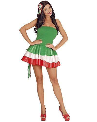 Vari Disfraz Carnaval Mujer Miss National Dress Soccer PS 10005 (Medium 78b36615747