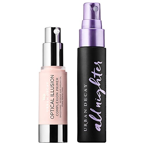 UD Urban Lockdown Travel Duo Set: All Nighter Makeup Setting Spray + Optical Illusion Primer