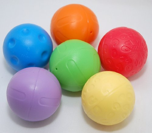 Fisher Price Go Baby Go Crawl and Cruise Musical Jungle - Replacement Balls - Colors Will Vary