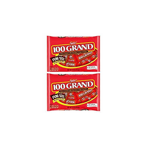 100 GRAND Fun Size 11 oz. Bag - Pack of 2 ()