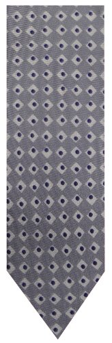 - Tommy Hilfiger Neck Tie Silver and Blue