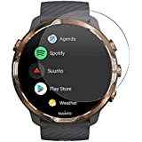 VIESUP for Suunto 7 Smartwatch Screen Protector Tempered Glass,HD Clear Anti-Scratch Full Coverage Screen Protector…