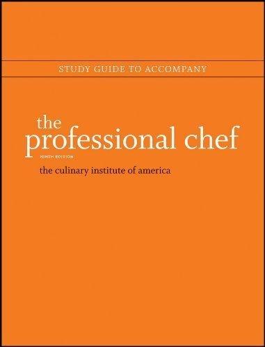 professional chef edition 9th - 2