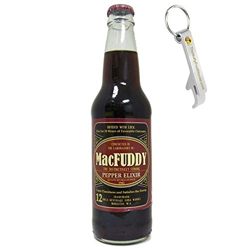 macfuddy-pepper-elixir-soda-pop-12-ounce-bottle-1-count-with-exclusive-stainless-steel-bottle-opener