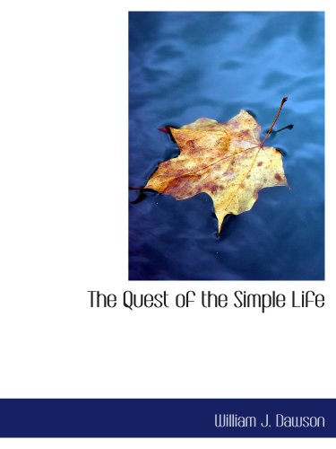 Download The Quest of the Simple Life pdf