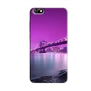 Cover It Up - Bridge-Purple Honor 4X Hard Case