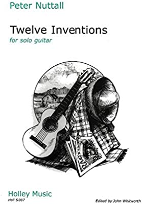 Peter Nuttall: Twelve Inventions. Partituras para Guitarra: Amazon ...