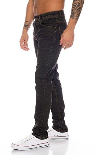 Straight Uomo 326 Loren Lorenzo Ll Jeans Schwarz w60qHnE