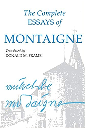 montaigne essays screech pdf