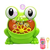 Automatic Frog Bubble Machine Automatic Bubble Blower Durable for Kids Birthday Party, Wedding