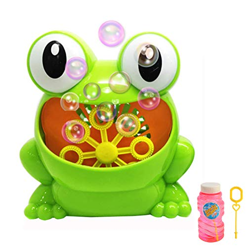 - Automatic Frog Bubble Machine Automatic Bubble Blower Durable for Kids Birthday Party, Wedding, Indoor and Outdoor Games