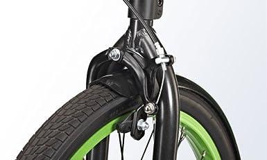 Sbyke P20 - Patinete de Acrobacias (Arce), Color Negro/Verde ...