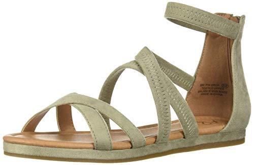 Aerosoles A2 Women's PIN Drop Flat Sandal, Light Green Combo, 9.5 M US