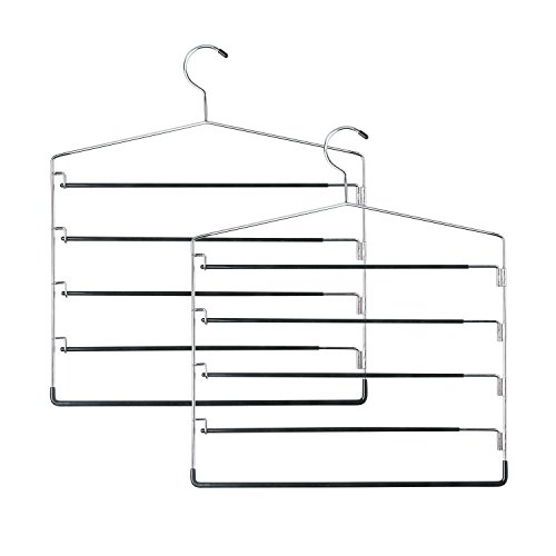 Honey Can Do HNGT01202 Five Tier Swinging 2 Pack