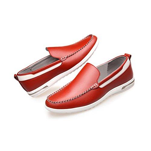 Zapatos Feidaeu Hombre Rojo Zapatos Rojo Hombre Feidaeu SqRxHTw60