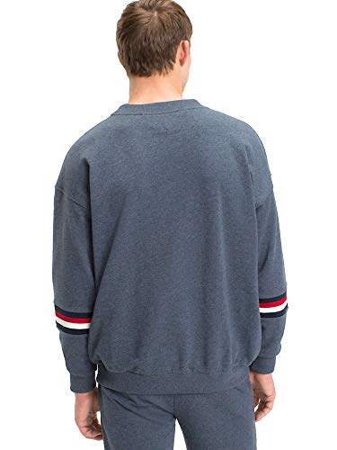 Indigo Tommy Blue Homme Corporate Sweatshirt Hilfiger Logo Bleu Survêtement wr0rOYqU