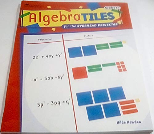 Algebra Tiles for the Overhead Projector, Grades 6+ ()