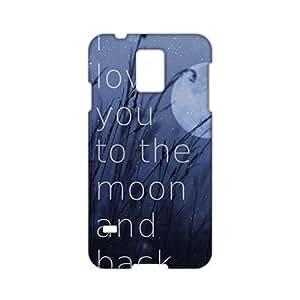 3D Case Cover Portadas para Love Phone Case for Samsung Galaxy s 5