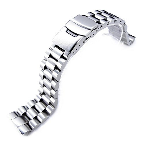 Watch Bracelet for Seiko New Turtles SRP777 SRPA21 Brushed (Seiko Link Bracelet)